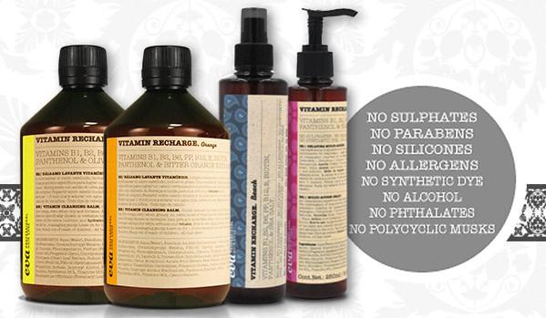 Vitamin šampoonid ja palsamid