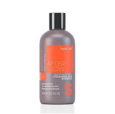After Glow šampoon värvitud juustele hoiab juuksevärvi värskena
