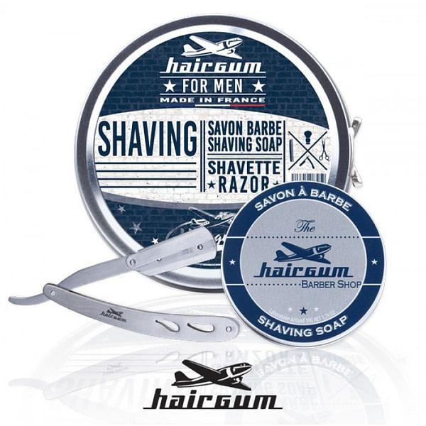 Hairgum Shaving komplekt on stiilne kingitus meestele