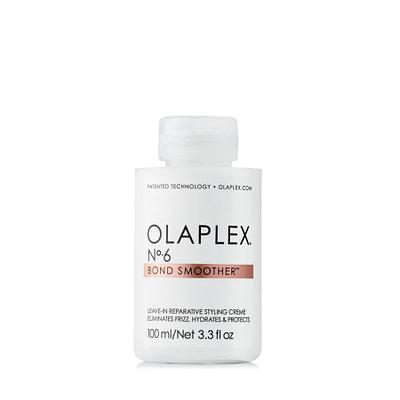 Olaplex No 6 Bond Smoother pehmendab, niisutab ja tugevdab juukseid