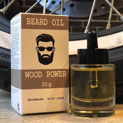 ahle Barbers habemeõli Wood on puidulõhnaline