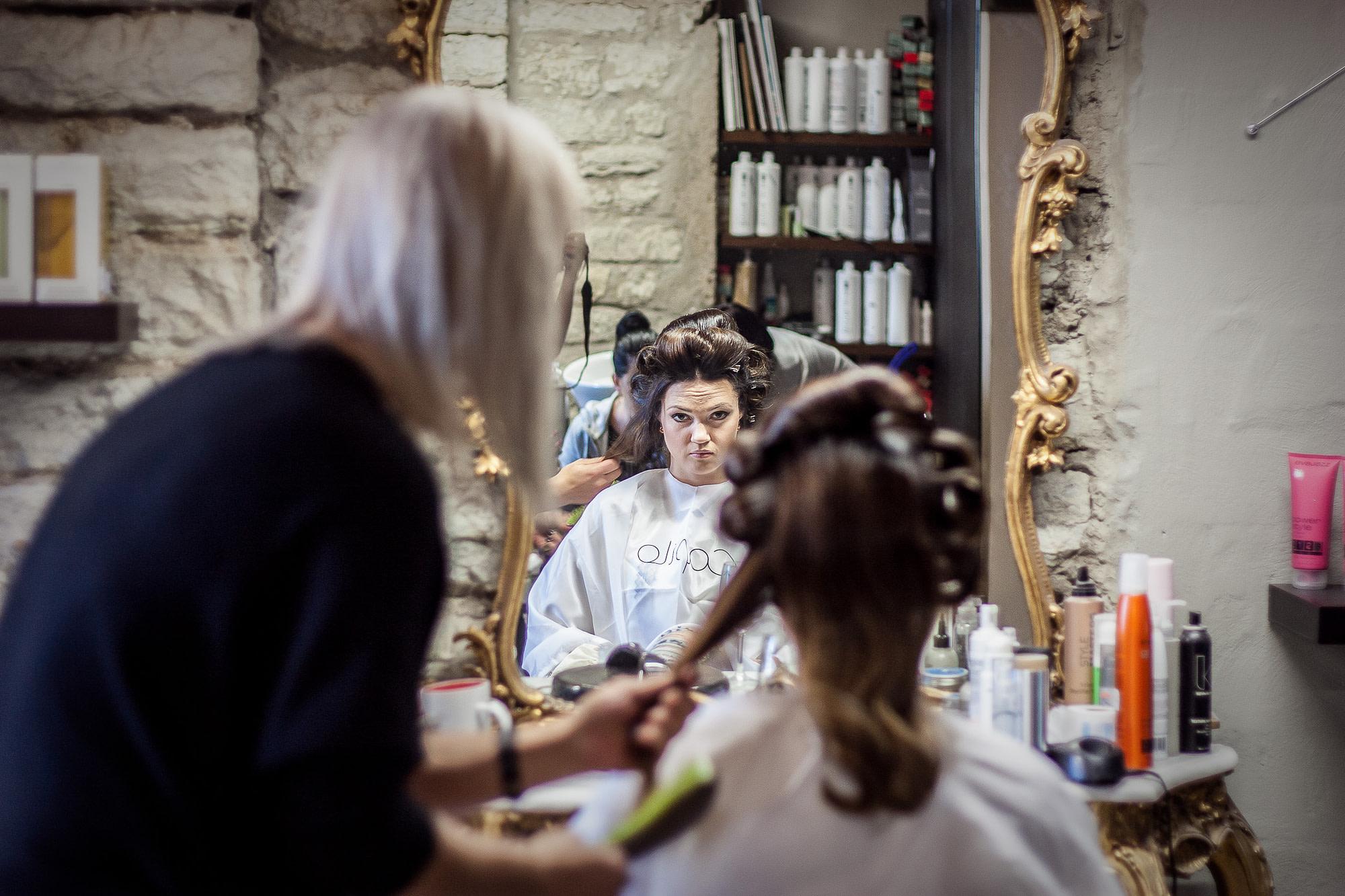 juuksur Tallinnas Fahleilusalong