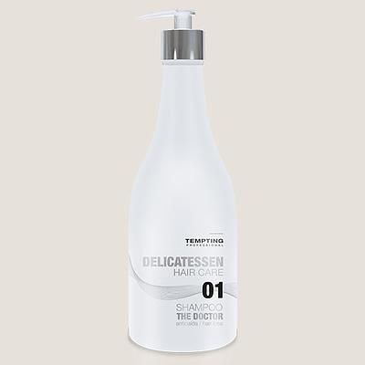 The Doctor juuste väljalangemise vastane šampoon peatab tõhusalt juuste väljalangemise