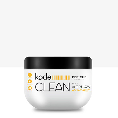 Kode CLEAN Anti Yellow mask blondidele 500 ml