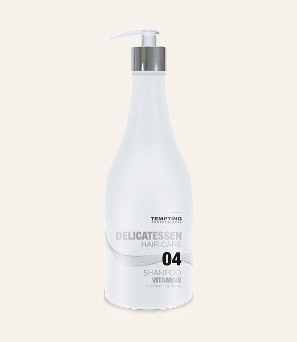 Argaaniõli sisaldav Vitamine šampoon kahjustatud ja kuivadele juustele