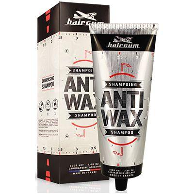 Hairgum Anti-Wax šampoon eemaldab viimistlustoodete jäägid