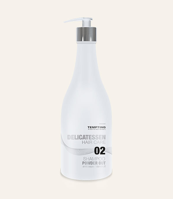 sinkpüritiooni sisaldav Powder Out kõõmavastane šampoon