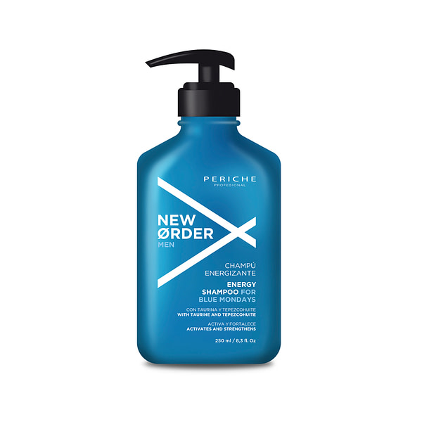 Elujõudu andev Periche Blue Mondayenergiat andev šampoon